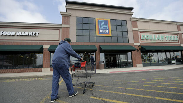 Eine Aldi-Filiale in East Rutherford, New Jersey. Quelle: AP
