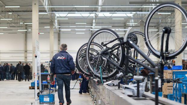Bericht: Rettung von Fahrradbauer Mifa auf der Kippe