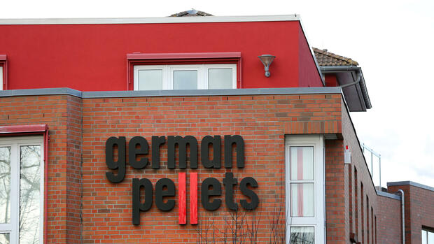 Insolvenz bei German Pellets Quelle: dpa