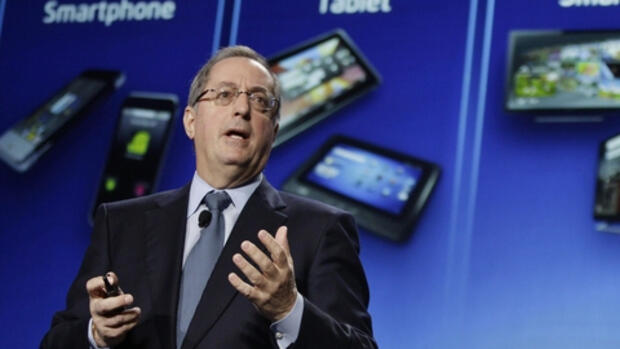 Intel-Chef Paul Otellini bei Quelle: dapd