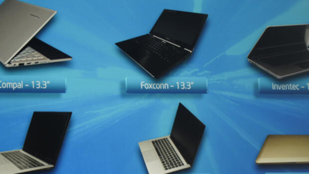 Intel Ultrabooks Quelle: Intel