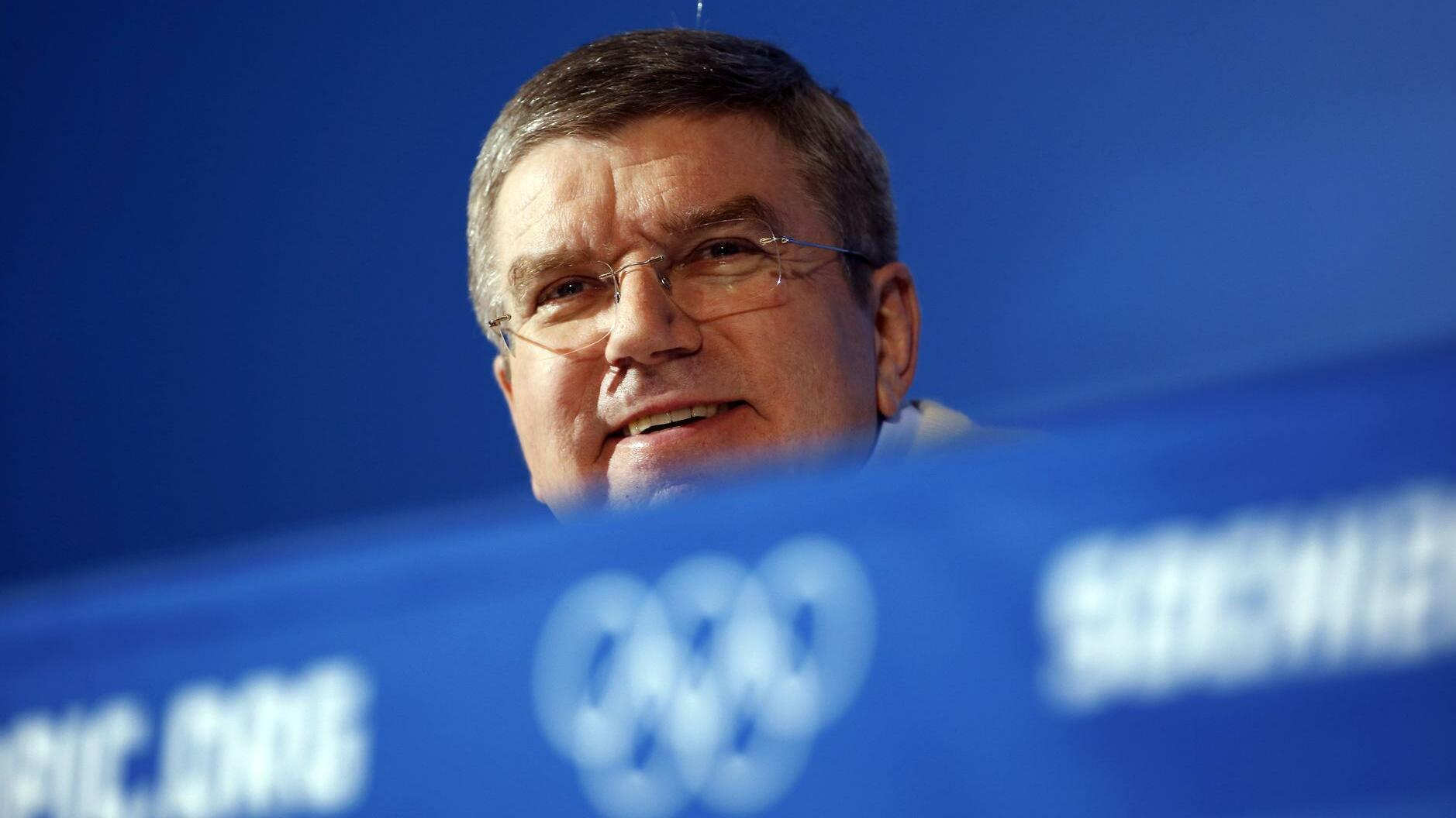 Thomas Bach Quelle: REUTERS