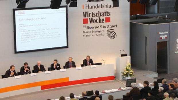Invest-Messe in Stuttgart 2009