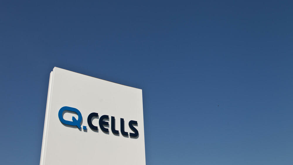 Q-Cells Quelle: dpa