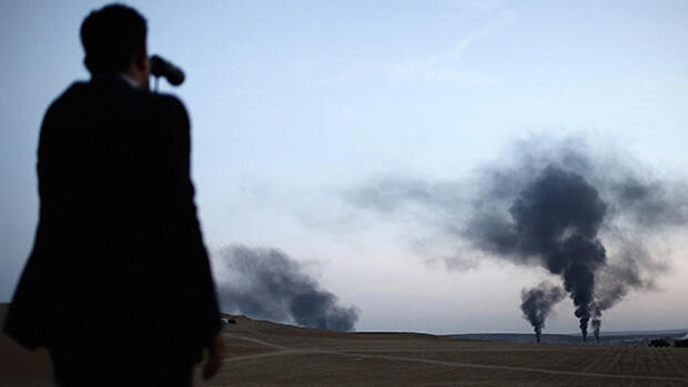 ISIS-Terror in Kobane Quelle: dpa Picture-Alliance