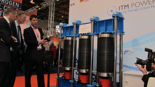 ITM Power, South Yorkshire, Großbritannien Quelle: PR