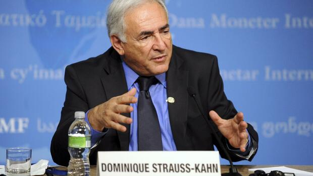 International Monetary Fund (IMF) Managing Director Dominique Strauss-Kahn Quelle: dpa