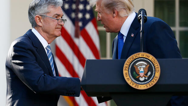 Jerome Powell Quelle: dpa