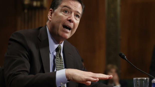 Ex-FBI-Chef James Comey Quelle: AP
