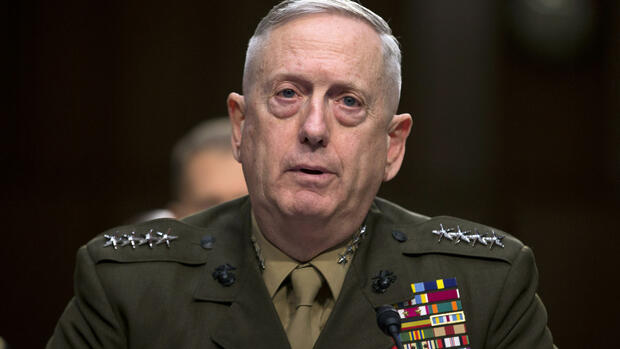 Donald Trump will den EX-General James Mattis zum Verteidigungsminister machen. Quelle: AP