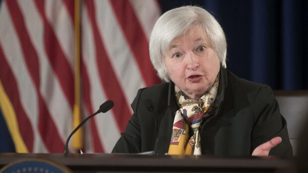 Fed-Chefin Janet Yellen Quelle: AP
