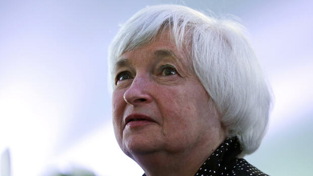 Janet Yellen, Präsidentin des Federal Reserve Board (FED) Quelle: AP