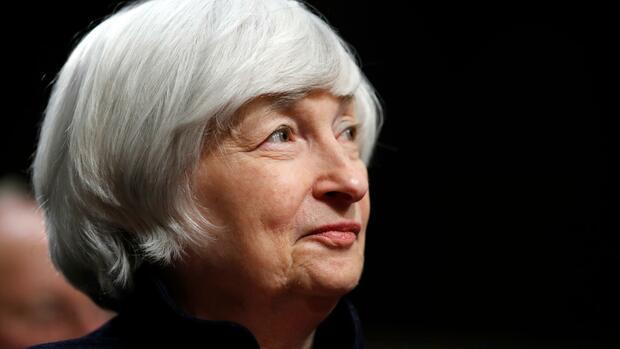 Fed hält Leitzinsen in letzter Sitzung von Yellen konstant