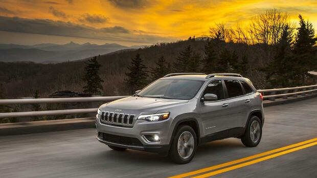 Jeep Cherokee MY2018 Quelle: Fiat