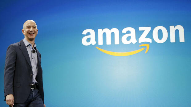 Amazon-CEO Jeff Bezos Quelle: AP