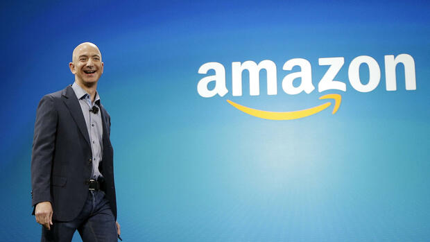 Amazon-Chef Jeff Bezos Quelle: AP