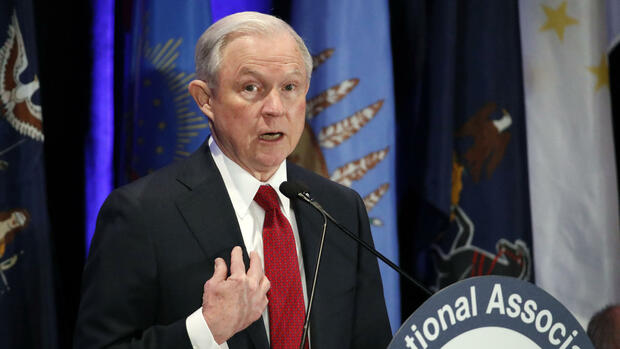 US-Justizminister Jeff Sessions Quelle: AP