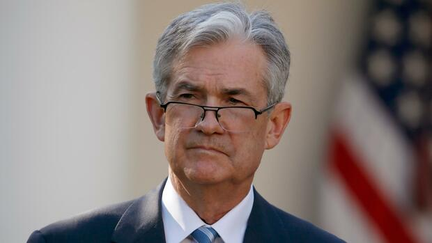 Fed-Chef Jerome Powell Quelle: dpa