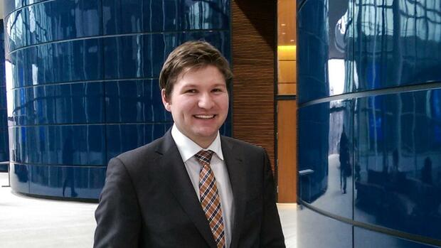 Johann Rebl studiert an der Yale School of Management. Danach will er Investmentbanker werden. Quelle: Privat