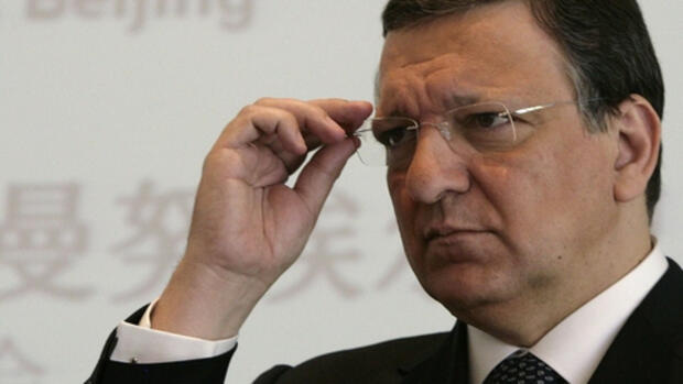 José Manuel Barroso in Peking Quelle: REUTERS