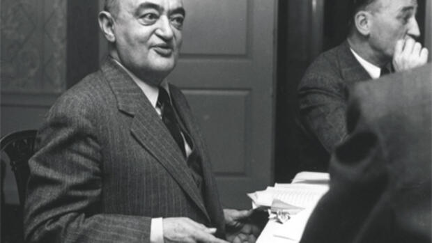Joseph Schumpeter Quelle: Harvard University Archives, HUGBS 276.90P (3).