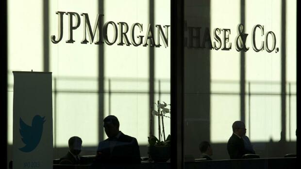 JP Morgan Quelle: REUTERS