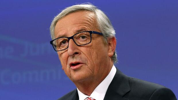 Jean-Claude Juncker Quelle: REUTERS