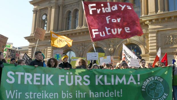 Fridays-for-Future-Demonstration Quelle: dpa
