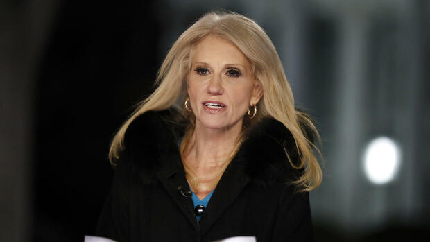 US-Präsident Trumps Beraterin Kellyanne Conway Quelle: dpa