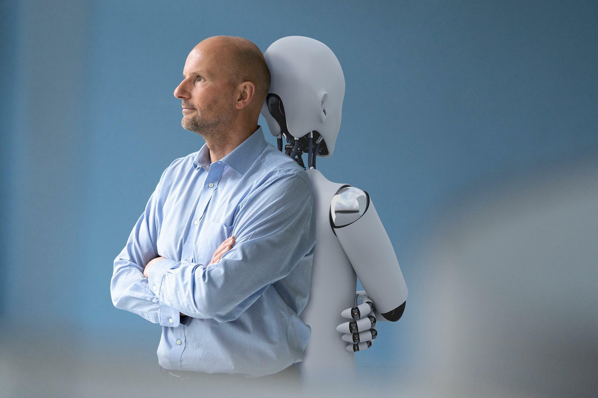 """Führungswechsel: """"Oh Gott, die Roboter kommen!?"""""""