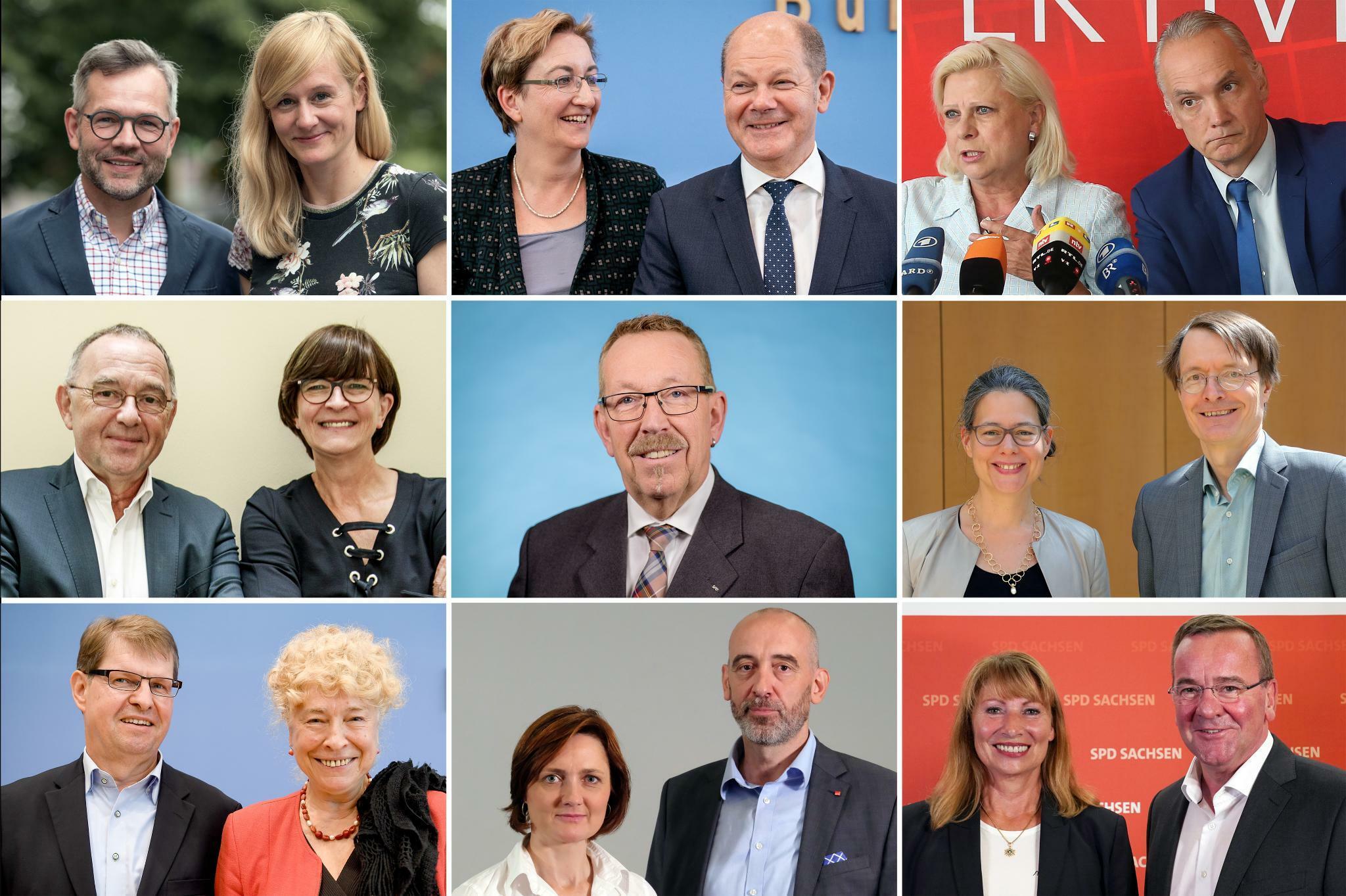 SPD-Vorsitz: Kein klarer Sieger bei SPD-Mitgliederentscheid