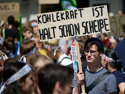 Demonstration von Fridays for Future in Aachen am 21. Juni 2019 Quelle: dpa