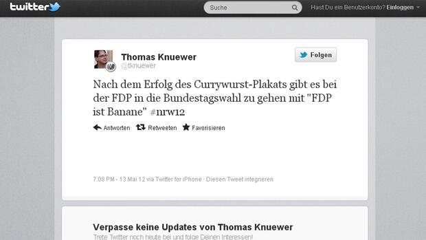 Twitter herr currywurst