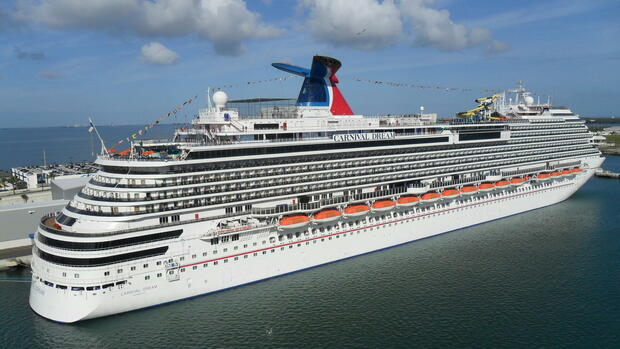 Foto der Carnival Dream Quelle: dpa