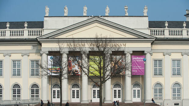Kunsthalle in Kassel Quelle: dpa