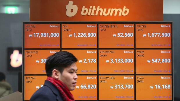 Bitcoin, Ripple, Ether: Kryptowährungen weiter unter Druck