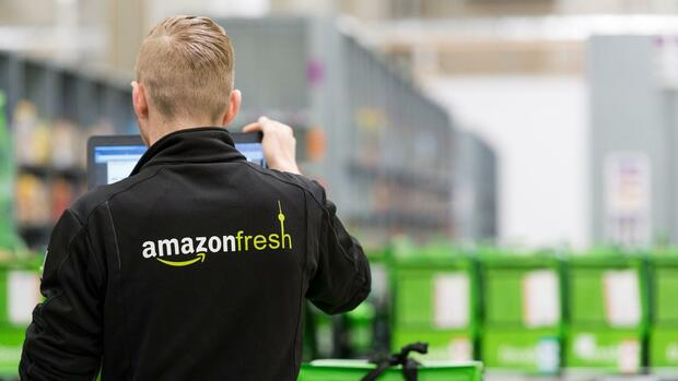 Amazon Fresh Quelle: dpa