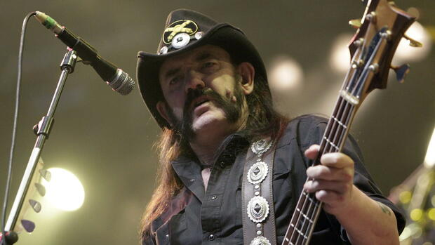 Heavy-Metal-Legende Lemmy Kilmister. Quelle: dpa