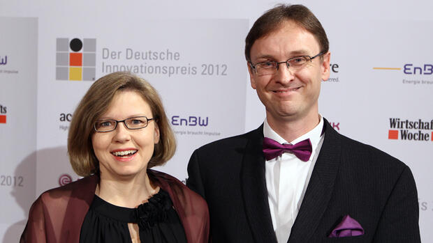 Andrea und Erik Licht (Global Marketing Man er, LyondellBasell)