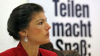 Hilfe für Schuldenländer: Wagenknecht will EZB als Staatsfinanzierer