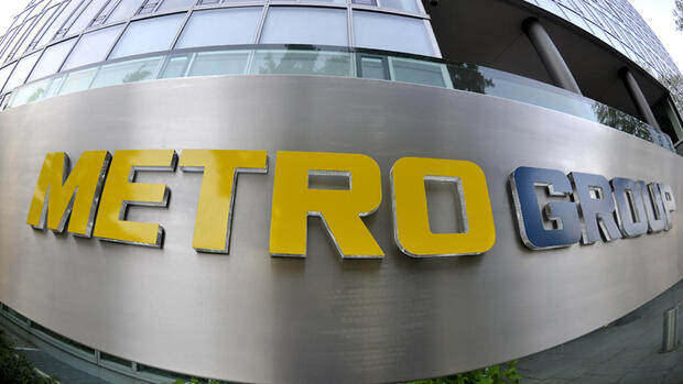Logo der Metro-Group Quelle: dpa