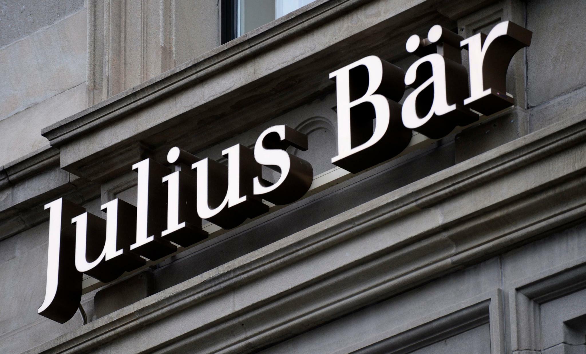 Vermögensverwalter: Privatbank Julius Bär warnt vor Wachstumsabschwächung