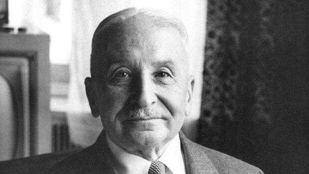 Ludwig von Mises Quelle: Mises Institute, Auburn, Alabama, USA