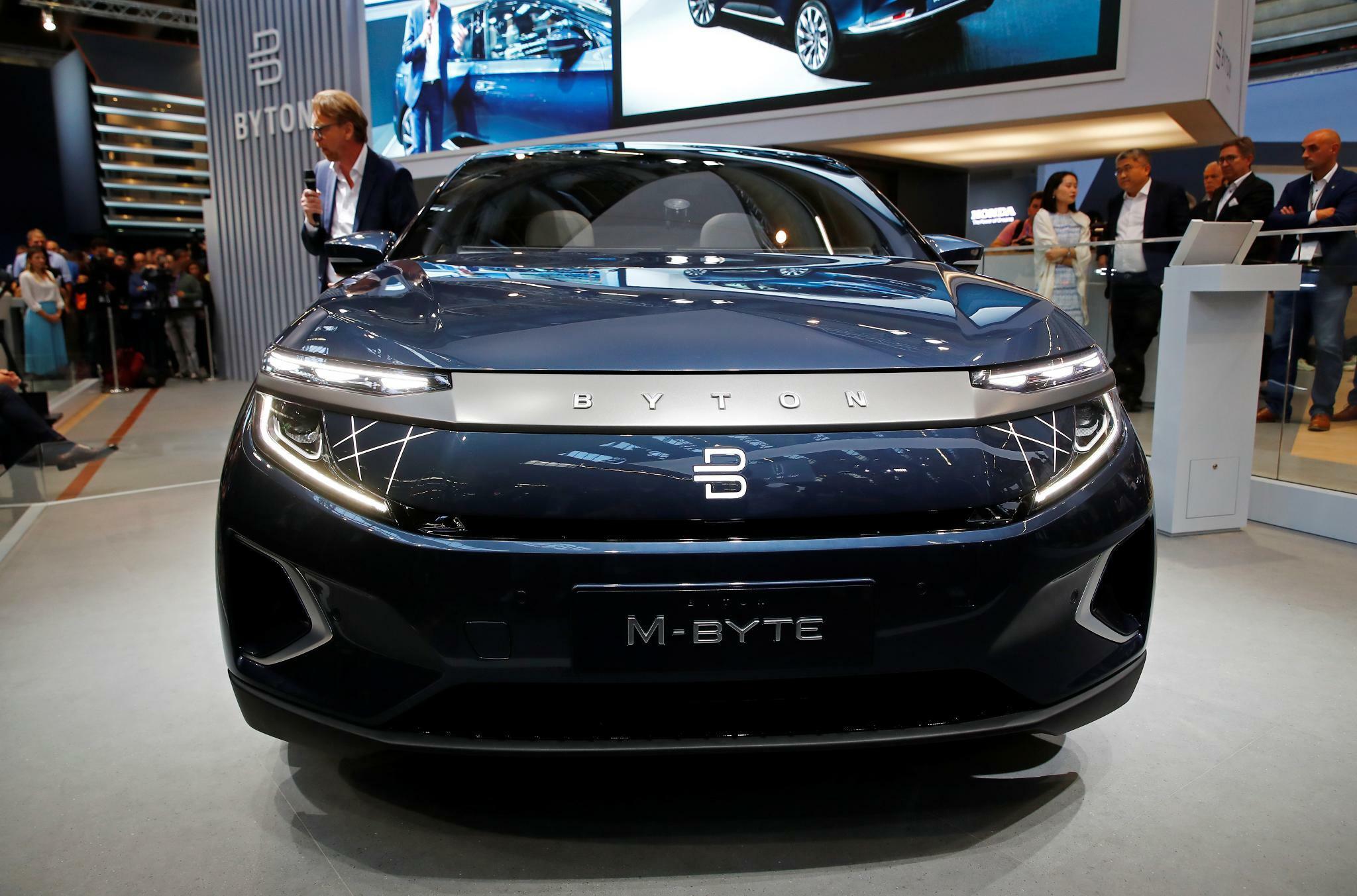 M-Byte: Byton stellt erstes Serienmodell mit Riesen-Display vor