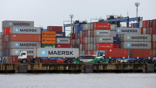 Die weltgrößte Cotainerreederei hatte zuletzt ihre Jahresziele angehoben. Quelle: Reuters