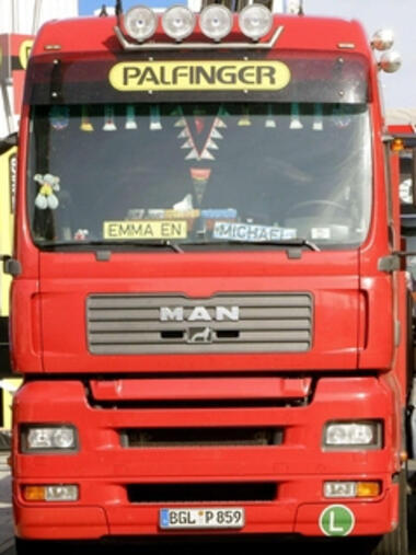 MAN-Lkw Quelle: REUTERS