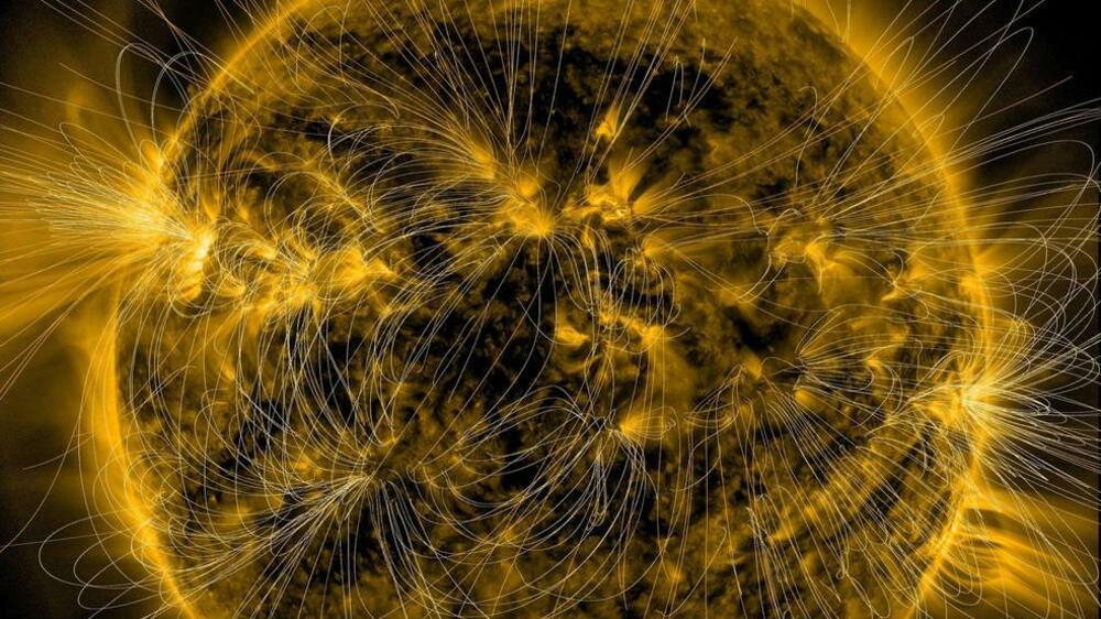 Sonne Magnetfeld