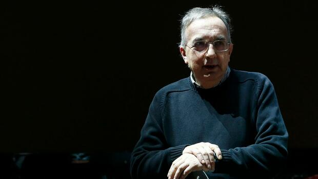 Fiat-Chrysler-Chef Sergio Marchionne gestorben Quelle: REUTERS