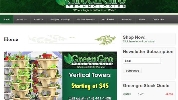 Greengro Aktie