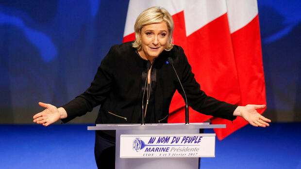 Marine Le Pen Quelle: REUTERS